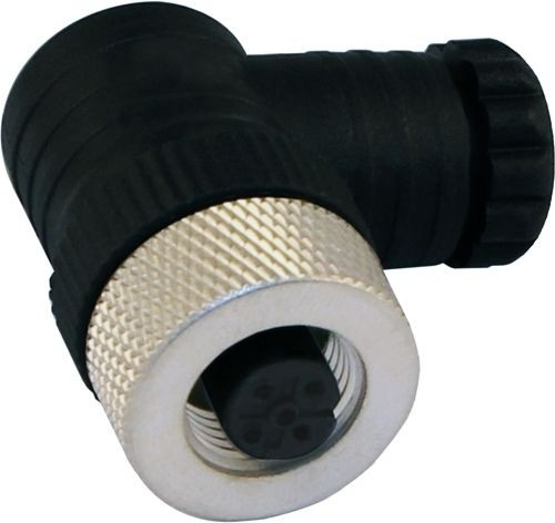 Sensorstecker M12 A-Codierung Buchse gewinkelt PG 7 Schraubanschluß 4P -ATEX-