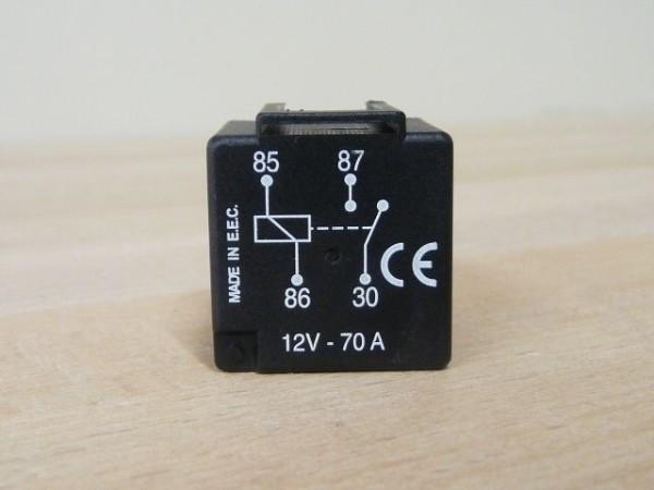 Leistungsrelais NO 12V 70A 4P