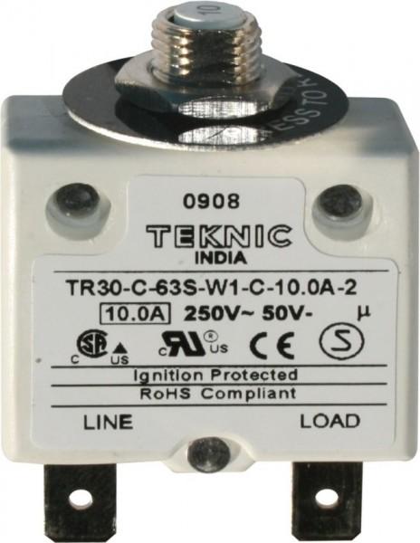 Geräteschutzschalter thermisch mit Sprungschaltung & positiver Freiauslösung 1P 6A