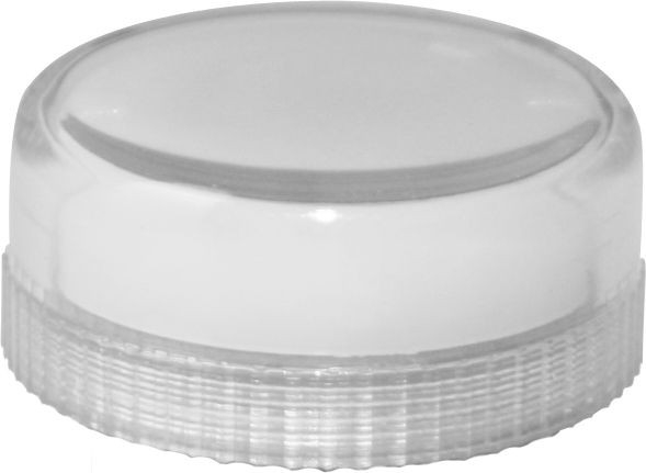 Lampenglas glatt für Meldeleuchte mit Glühlampe klar