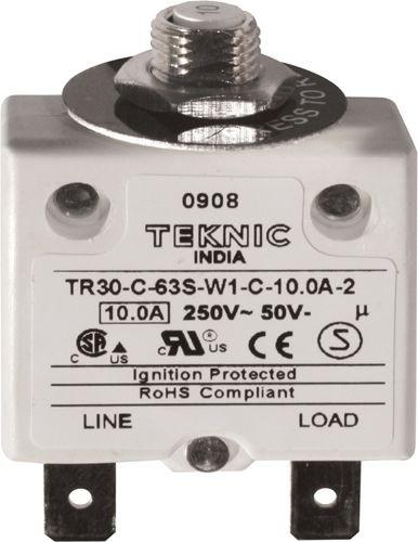 Geräteschutzschalter thermisch mit Sprungschaltung & positiver Freiauslösung 1P 10A