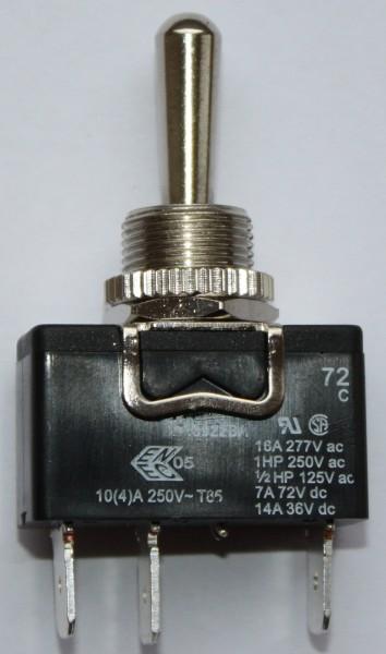 Kippschalter 1P (ON)-OFF-(ON) IP65