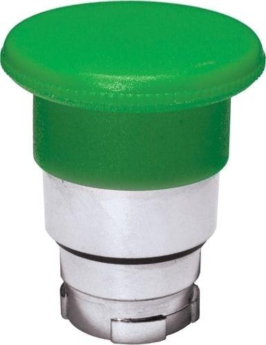 Pilzdrucktaster Metall 40mm tastend Grün