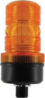 Blitzleuchte LED 12-80V Orange Bolzenmontage Höhe 137mm Ø58mm