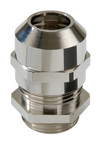 SPRINT Messing-Kabelverschraubung, Zugentlastung, IP 68, mit Kontaktfedereinsatz, EMSKV 40 EMV-s, M40x1,5, 16 - 28 mm