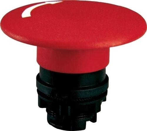 Pilzdrucktaster Plastik 60mm Zugentriegelung Rot