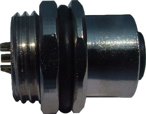 Sensorstecker M12 A-Codierung Buchse Vorderwandmontage PG9 Lötanschluß 5P