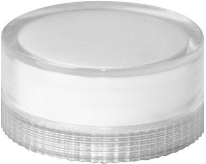 Lampenglas glatt für beleuchteten Drucktaster mit Glühlampe Weiß