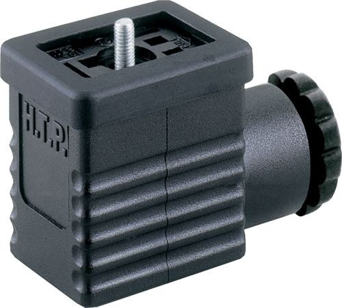 Ventilstecker Bauform BI (11mm) Höhe 30mm 2+PE PG9