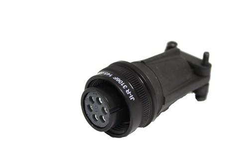 Kabelstecker MIL-C-5015 eloxiert 3106F 14S-6 Buchse 6P 13A 200VAC