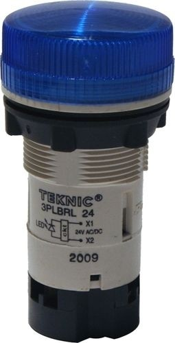 Meldeleuchte Monoblock mit LED 24V Blau
