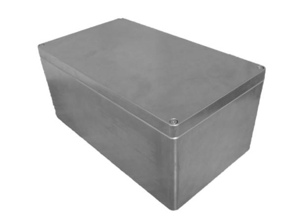 Aluminium-Druckguss-Gehäuse efabox 400x230x180mm IP68 Neoprendichtung unbeschichtet