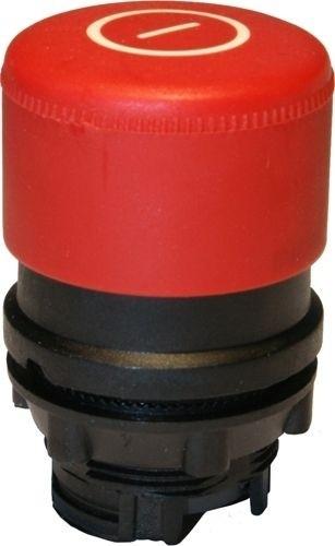 Pilzdrucktaster Plastik 30mm tastend Rot