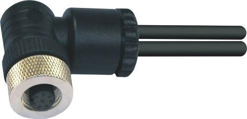 Sensorstecker M12 A-Codierung Buchse gewinkelt PG9/11 Schraubanschluß 8P