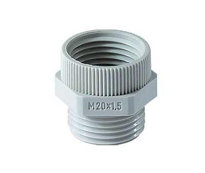 Adapter für Kabelverschraubung, Polyamid, PG9-M16