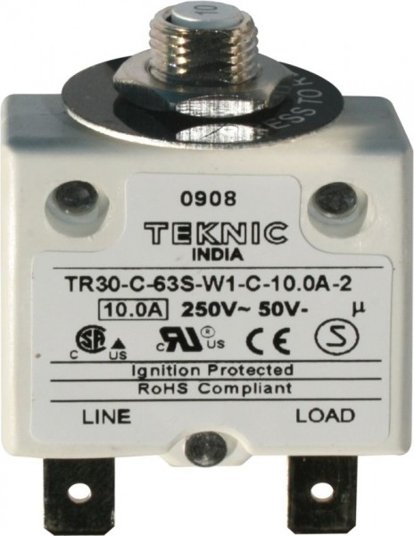 Geräteschutzschalter thermisch mit Sprungschaltung & positiver Freiauslösung 1P 25A