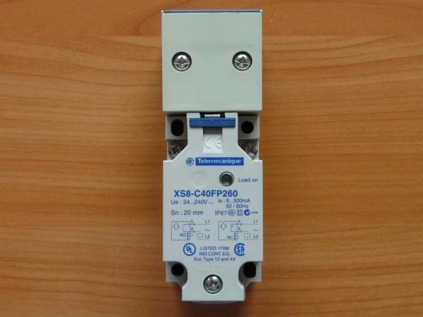 Näherungsschalter Induktiv XS8C40FP260