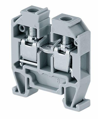CMT4 Micro Terminal Block 4mm2, 400V 32A grau