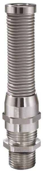 SPRINT Kabelverschraubung mit Knickschutz, Messing, lang, EMSKVS-L 16, M16x1,5, 4,5 - 10 mm