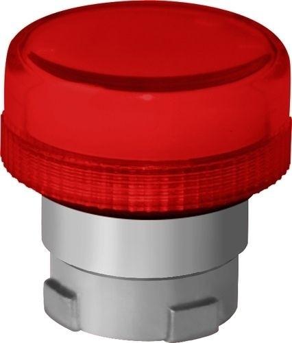 Meldeleuchte Metall Rot