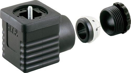 Ventilstecker Bauform A (18mm) Höhe 27mm 2+PE PG9/11