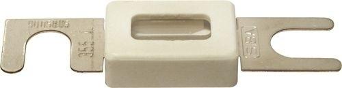 Streifensicherung mit Funkenschutz Keramik DIN 43560 80VDC 63A