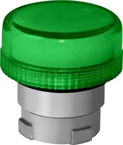 Meldeleuchte Metall Grün