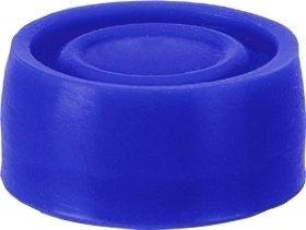 Kappe Blau für bekappten Drucktaster