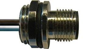 Sensorstecker M12 B-Codierung Stift Vorderwandmontage PG9 5x0,25 Einzellitze 0,2m