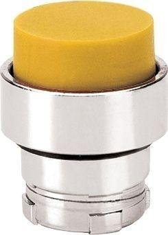 Drucktaster Metall vorstehend Gelb