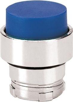 Drucktaster Metall vorstehend Blau