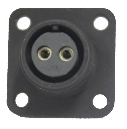 Gerätesteckdose MIL-C-5015 eloxiert 3102R 10SL-4 Buchse 2P 13A 500VAC