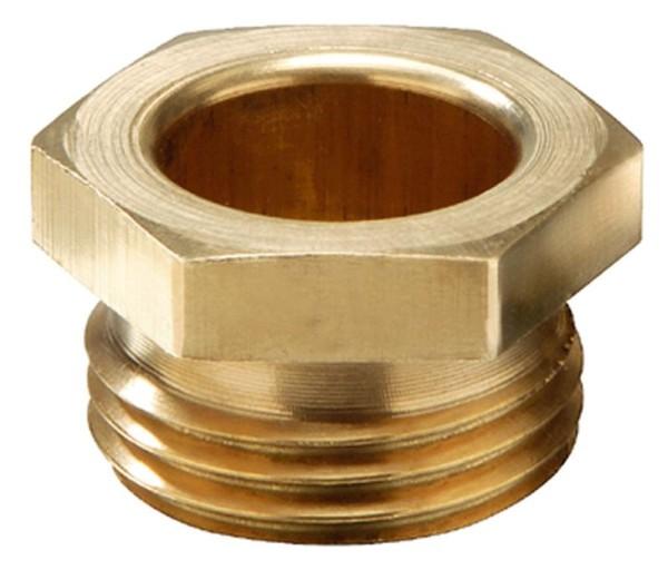 Schraubbuchse, Messing, kurz, DIN 89280, SBK 30, M30x2,