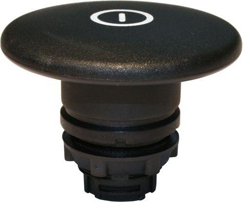 Pilzdrucktaster Plastik 60mm tastend Schwarz