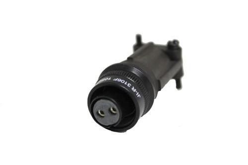 Kabelstecker MIL-C-5015 eloxiert 3106F 10SL-4 Buchse 2P 13A 500VAC
