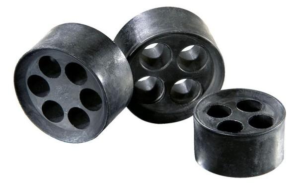 SPRINT Mehrfachdichteinsatz für SPRINT-Kabelverschraubung, schwarz, MFD 63/01/131-01/118-03/084-02/064, M63x1,6,