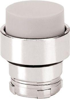 Drucktaster Metall vorstehend Weiß