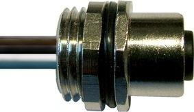 Sensorstecker M12 A-Codierung Buchse Vorderwandmontage PG9 8x0,25 Einzellitze 0,2m