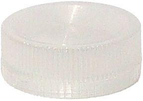Lampenglas geriffelt für beleuchteten Drucktaster mit LED klar