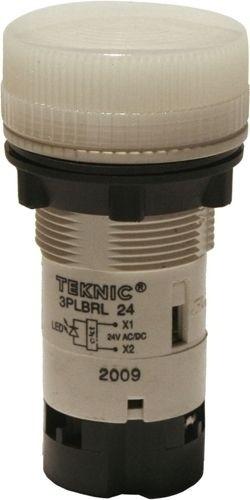 Meldeleuchte Monoblock mit LED 24V Weiß