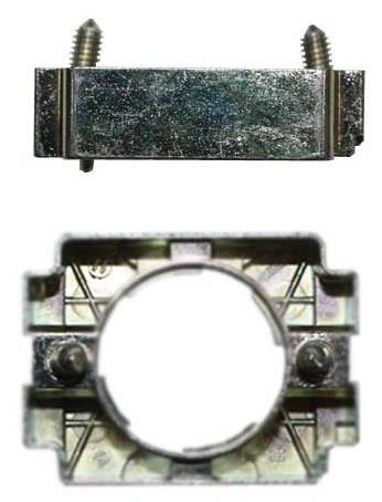 Befestigungsflansch Metall