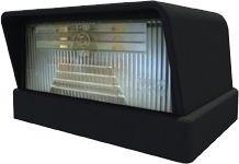 Nummernschildbeleuchtung ohne Leuchtmittel R5W 12V