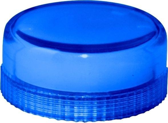 Lampenglas glatt für Meldeleuchte mit Glühlampe Blau