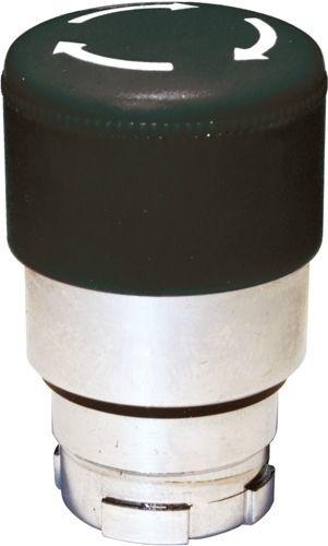 Pilzdrucktaster Metall 30mm tastend Schwarz