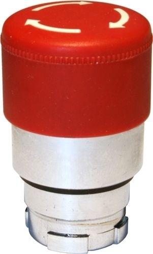 Pilzdrucktaster Metall 30mm Zugentriegelung Rot