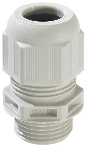 SPRINT-Kabelverschraubung, Zugentlastung nach EN 50262, Variante A, Glühdrahtprüfung VDE 0471 T2 960°C, UL-VO, ESKV-F- 12, M12x1,5, 3 - 7 mm
