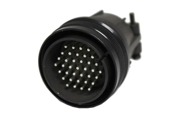 Kabelstecker MIL-C-5015 eloxiert 3106F 28-21 Stift 37P 13A 500VAC