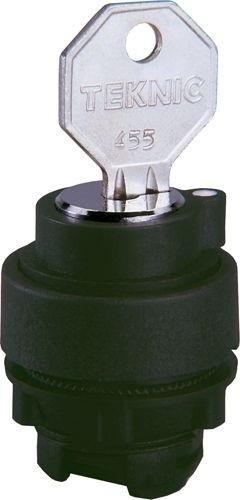 Schlüsselschalter Plastik L*R 455