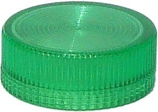 Lampenglas geriffelt für beleuchteten Drucktaster mit LED Grün