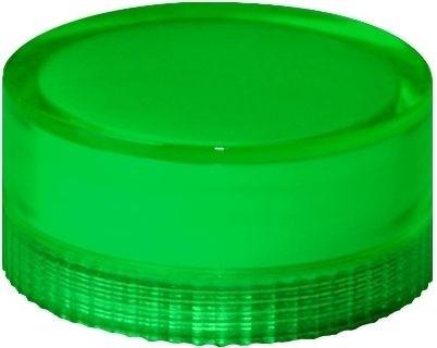 Lampenglas glatt für beleuchteten Drucktaster mit Glühlampe Grün
